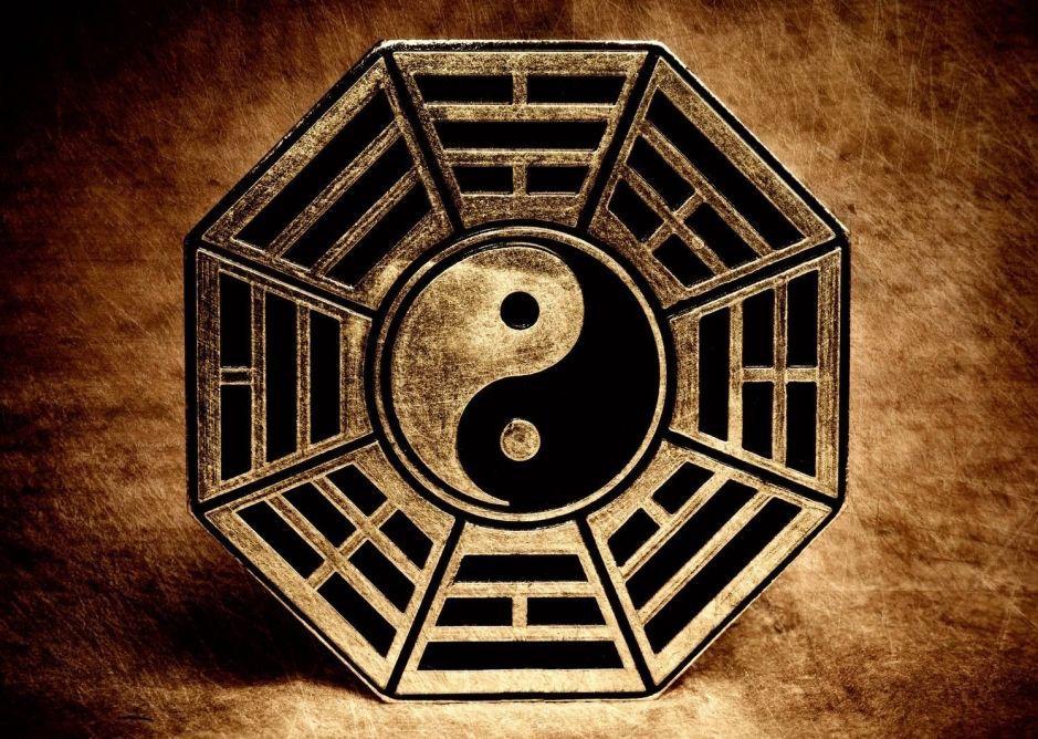 Небесный круг, Багуа, Триграммы, Инь-Ян